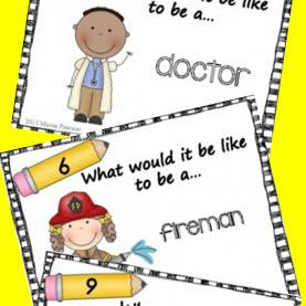 Top Community Helpers Lesson Plan 12 Free Task Cards To Give Your Students The Opportunity To Writ