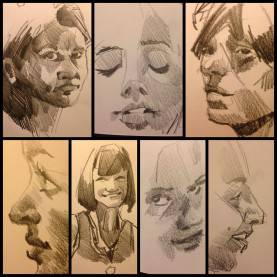 Top Drawing Activities For High School Portrait Sketches €? Anoved