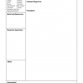 Top Easy Lesson Plans For Kindergarten Lesson Plans Sheets - Commonpenc
