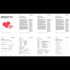 Top English Lesson Plan Valentine Day English Lesson Plans For Valentine'S Day €? Esl Library
