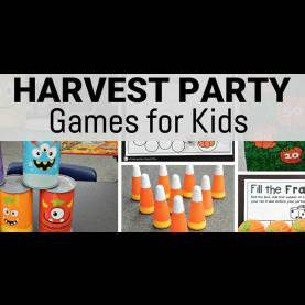 Top Fall Harvest Games For Preschoolers 5 Harvest Party Games For Kids - The Kindergarten Connec