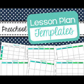 Top Free Lesson Plan Templates For Preschool Free Preschool Lesson Plan Templates | The Best Of Pre-