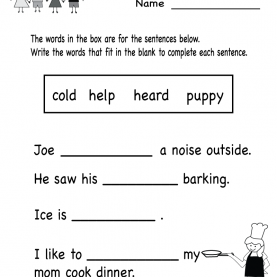 Top Kindergarten Grammar Lesson Plans Kindergarten Grammar Worksheet Printable | Worksheets (Legac