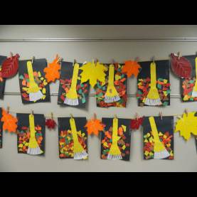 Top Leaf Arts And Crafts For Preschoolers The Vintage Umbrella: Rakes And Leaves Art Pro