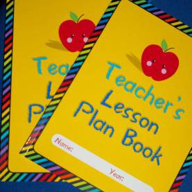 Top Lesson Plan Book Target Pancakes And Paper: Lesson Plan