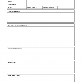 Top Lesson Plan Template Ks1 Basic Lesson Plan Template 23547488 Screenshoot Great Printabl