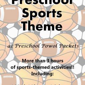 Top Pre K Lesson Plans Sports Sports Theme Preschool Lesson | Preschool Powol Packets | Sport