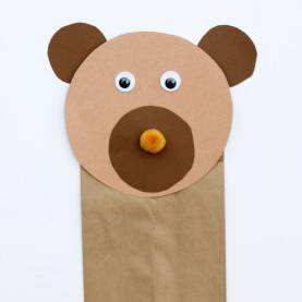 Top Preschool Lesson Plans Using Puppets Brown Bear Puppet Craft | Puppet Crafts, Brown Bear And Pu