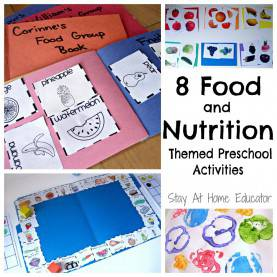 Top Preschool Teaching Themes 8 Food And Nutrition Themes Preschool Activities - Stay At Hom