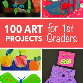 Top Simple Art Projects For First Grade First Grade | Art Collages, Project Ideas And Col