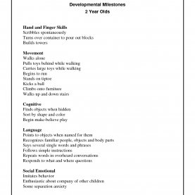 Trending 2 And 3 Year Old Lesson Plans Developmental Milestones Checklist For 2 Year Olds | Educatio
