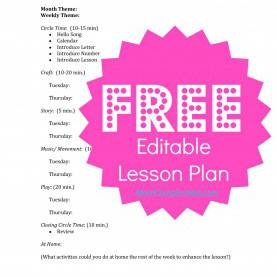 Trending 2 Year Old Lesson Plans Free How To Set Up A Home School Preschool (With Free Lesson Pla