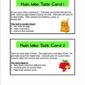Trending 2Nd Grade Lesson Plans For Main Idea Main Idea - Lessons - Tes T