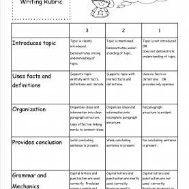 Trending 3Rd Grade Writing Lesson Plans Informative Writing Rubric | Ebc--Reading, Writing, Literatur