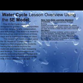 Trending 5E Lesson Plan For Water Cycle Constructivism Michelle Gaudette Fran Glickman Sheldon Heil. - Pp