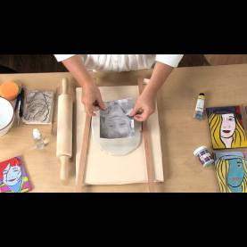 Trending Clay Lesson Plans Pop Art Clay Portraits - Lesson Plan - You