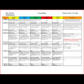 Trending Daily Lesson Plan Template For Kindergarten 25 Images Of Kindergarten Math Lesson Plan Template | Infovia
