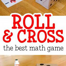 Trending Easy Math Activities Roll & Cross Math Game | Easy Math, Math Activities And