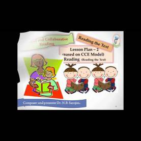 Trending English Lesson Plan Cce Model English Cce Lesson Plan 2 Reading Prose - You