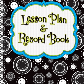 Trending Lesson Plan Grade Book Crazy Circles Lesson Plan & Record Book - Tcr3269 | Teache