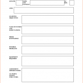 Trending Lesson Plan Template Uk Word Physical Education Lesson Plan Template New Photograph 5 Eas