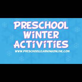 Trending Pre K Activity Ideas Winter Activities For Pre K Kids | Pre K Science & Sensory Idea
