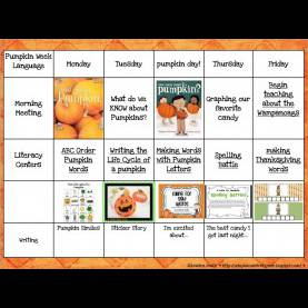 Trending Pumpkin Preschool Lesson Plans A Day In First Grade | Pumpkin Week (And Freebi