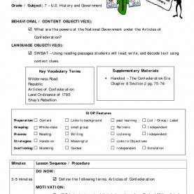 Trending Siop Lesson Plan Sequence Siop Lesson Plan Template     Tryprodermagenix