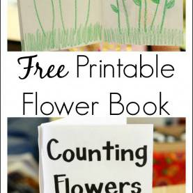 Trending Spring Lesson Plans For Preschoolers Math Printable Book About Counting Flowers | Early Math, Early Literac