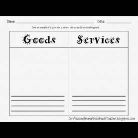 Typical 1St Grade Lesson Plans For Goods And Services Goods And Services 1St Grade | Social Studies | Pinterest | Socia