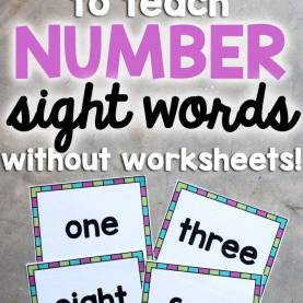 Typical Best Way To Teach Math To Kindergarten Best 25+ Number Words Ideas On Pinterest | Kindergarten, Preschoo