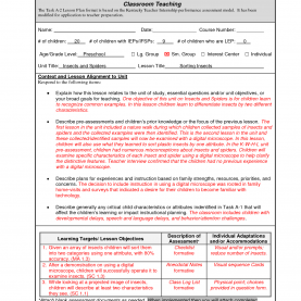 Typical Edtpa Aligned Lesson Plan Template Edtpa Lesson Plan Template | Business Temp