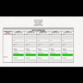 Typical English Lesson Plan Form 3 Daily Lesson Plan Format - Commonpenc