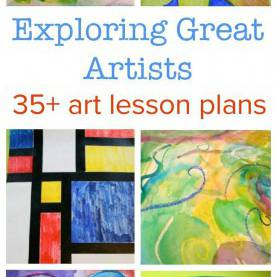 Typical Famous Artists For Kids Lesson Plans Exploring Great Artists :: Complete Art Lesson Plans | Art Histor