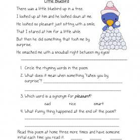 Typical First Grade Reading Activities Worksheets For All | Download And Share Worksheets | Free O
