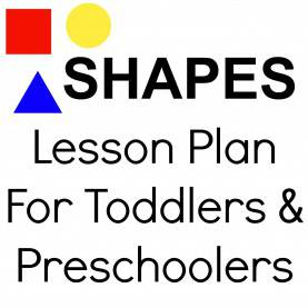 Typical Lesson Plan For Teaching Shapes To Preschoolers Shapes Lesson Plan For Toddlers & Preschoolers. Repinned By So