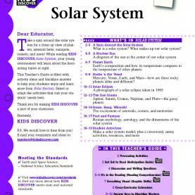 Typical Lesson Plan In Science 5 Solar System Solar System - Kids Disc