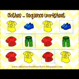 Typical Lesson Plans For Preschool Clothing Make The Children Interested In Language, Capture Their Attentio
