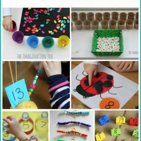 Typical Manipulative Activities For Kindergarten 511 Best Number Identification And Counting Images On Pinteres