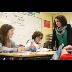 Typical Middle School English Teacher Teachers Respond Better To Multimedia Lessons Than
