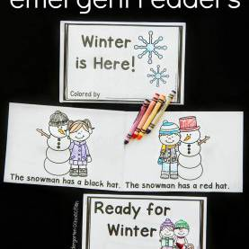 Typical Printable Guided Reading Books Emergent Readers - Winter Collection | Emergent Readers, Guide