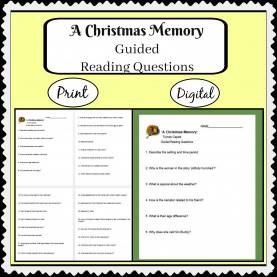 Typical Reading Lesson Plans Christmas A Christmas Memory By Truman Capote With Guided Reading Question