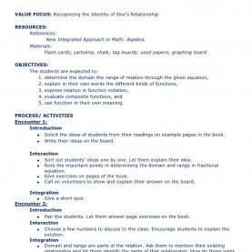 Typical Sample Math Lesson Plan Templates Algebra Lesson Plan Template. Detailed Lesson Plan In Trigonometr