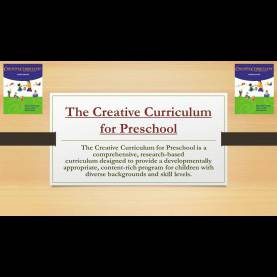 Typical The Creative Curriculum For Early Childhood The Creative Curriculum For Preschool - Ppt Video Online Down