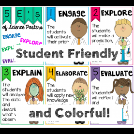 Unusual 5 E'S Of Science 5 E'S Of Science Posters | Science Posters, Science Classroom An
