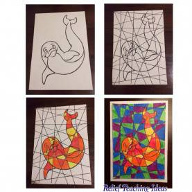 Unusual Art Ideas For Teachers Art & Craft | Relief Teaching I