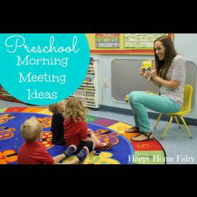 Unusual Child Care Activities For 2 Year Olds Preschool Morning Meeting Ideas - Happy Home F
