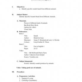 Unusual Detailed Lesson Plan In Science 2 Standard Order Form Template Choice Enrolment Form Temp