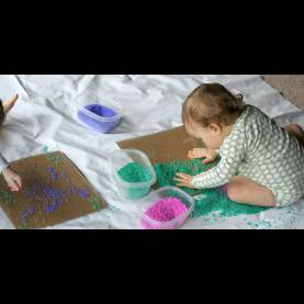 Unusual Fun Activities For Infants And Toddlers Baby/toddler Colored Ric