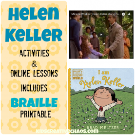 Unusual Helen Keller Lesson Plans Helen Keller Lesson Plans Elementary Middle School - Kids Creativ